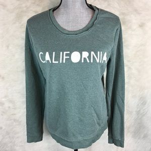 Well Worn Crew Neck Sweater California Graphic